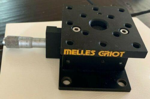 Melles Griot 07TEZ204 Vertical Stage, 10mm travel