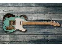 Fender Squier Telecaster roadworn relic 16 years old
