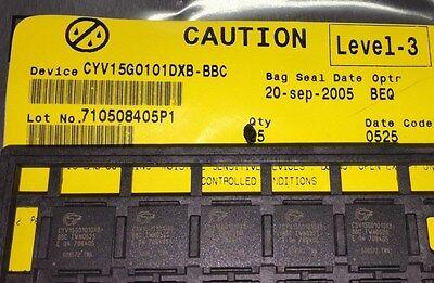 2 Piece Lot Cyv15g0101dxb-bbc Telecom Ic Transceiver 100-tbga 11x11