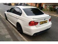 Bmw 318I m sport 2011 lci 2.0 petrol xenons red heated leather Bmw service history