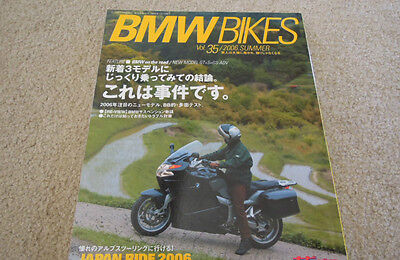 BMW Bikes Motorcycle Magazine / Book 2006 Summer Thick & Glossy Ships from USA