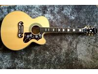 Epiphone EJ-200CE Electro Acoustic, Natural (Mint Condition no case included) £250 O.N.O