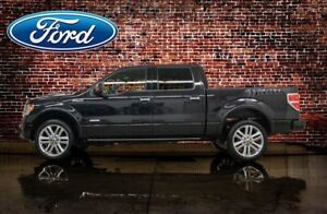 2014 Ford F-150 4x4 Crew Cab Limited Leather Roof Nav