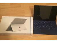 Microsoft Surface Pro 4 + Accessories. 256GB, i5, 8GB RAM