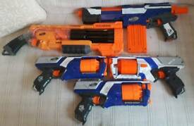 5 NERF GUNS FOR SALE £60
