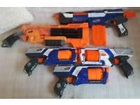 5 NERF GUNS FOR SALE £60