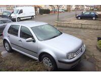2002 - VW Golf 1.6 SE l 104,000m l Needs New Starter Motor