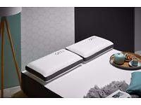 OTTY Deluxe Cool Blue Gel Infused Memory Foam Luxury Pillow