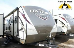 2017 Fun Finder 28QD TRAVEL TRAILER WITH QUAD BUNK ROOM AND REMO