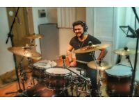 DRUM LESSONS| Professional Drummer - home visits (N11)