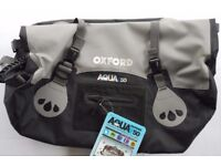Oxford Aqua T50 Waterproof Roll Bag BNWT Great Xmas present £30.00