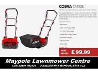 NEW Cobra Cylinder Lawnmower - Cheap, Lightweight, 2 Year Warranty