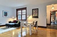 Superb 2 Bedroom apartment in NDG- Heating included