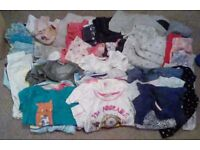 Mixed bundle of girls clothes size 2-3