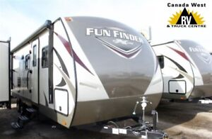 2017 Cruiser RV Fun Finder 28QD TRAVEL TRAILER WITH QUAD BUNK RO