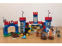 *RARE* LEGO Duplo Big Royal Castle (10577) Play Set with box, incl. additional knight & horse