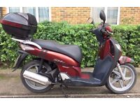 SMART LOOKING AND RELIABLE HONDA SH125 i SCOOTER 2006 LONDON bike not Dylan ses pcx