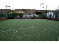 Join 5 and 8 a side casual football games in Mile End