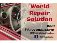 Car body repair service, accident repair
