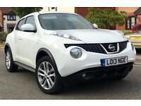 White Nissan Juke Acenta Premium