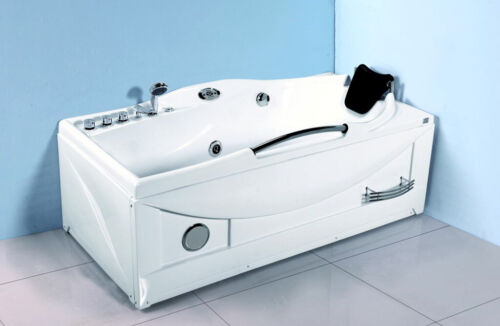 Computerized 1 Person Hydrotherapy Whirlpool Jetted Massage Bathtub Spa + HEATER