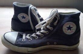 Converse All Star blue size 10 UK