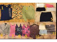 Girls/Ladies size 6 - 8 clothes bundle