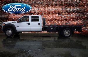 2016 Ford F-550 4x4 Crew Cab XLT Dually Deck