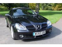 FOR SALE MERCEDES 300 SLK AUTOMATIC CONVERTIBLE ONE OWNER INCLUDES £6,600 WORTH OF EXTRAS