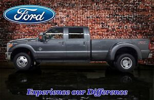 2015 Ford F-350 CREW CAB LARIAT 4X4 FX4 DUALLY