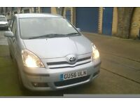 TOYOTA COROLLA VERSO: 50,300 Millage, AUTOMATIC, 7 Seater, Reliable , Electric, 7 Months Mot