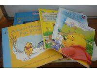Lot Bundle of 5 x Disney Winnie the Pooh Books