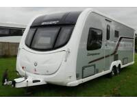 2012 Swift Conqueror 645 4 Berth Transverse Bed Alde Heating Twin Axle Caravan