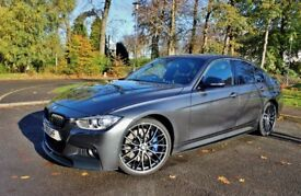 BMW 3 Series 3.0 330d M Sport Sport Auto 4dr (start/stop) - FULL BMW FITTED AERO KIT - LOW MILES