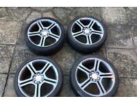 Seat ibiza fr 6l alloys wheels