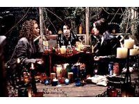 White witch, tarot reading, psychic, spell casting, medium.