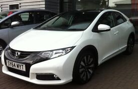 Honda Civic 1.8 i-VTEC SR 5dr Petrol EXCELENT Condition