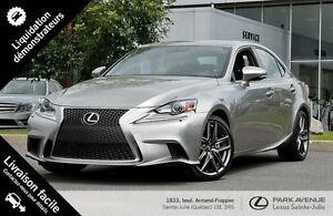2014 Lexus IS 250 F Sport Premium AWD