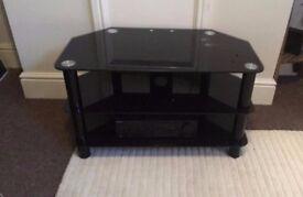 3 Tier Glass TV Console