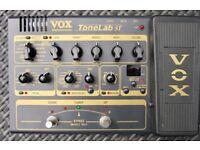 VOX TONELAB ST Guitar Effects Pedal excellent condition, psi, manual, box