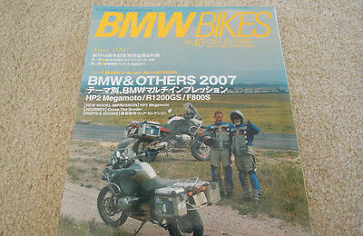 BMW Bikes Motorcycle Magazine / Book 2007 Autumn Thick & Glossy Ships from USA