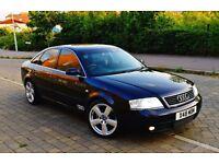 """Audi A6 1.8T Manual Petrol LPG BRC 1 Year MOT SatNav Bluetooth Leather 18"""" Ronal VGC"""