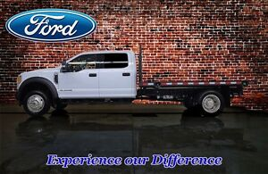 2017 Ford F-550 CHASSIS CAB CREW CAB XLT 4X4 DUALLY FLAT DECK