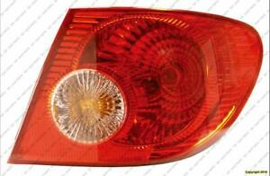 Tail Light Passenger Side High Quality Toyota Corolla 2005-2008