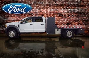 2018 Ford F-550 CHASSIS CAB 4x4 Crew Cab XLT Deck Diesel