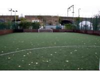 Play 5 and 8 a side football games in Mile End throughout the week