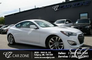 2016 Hyundai Genesis Coupe 3.8 R-Spec 6 Speed, Low Payment