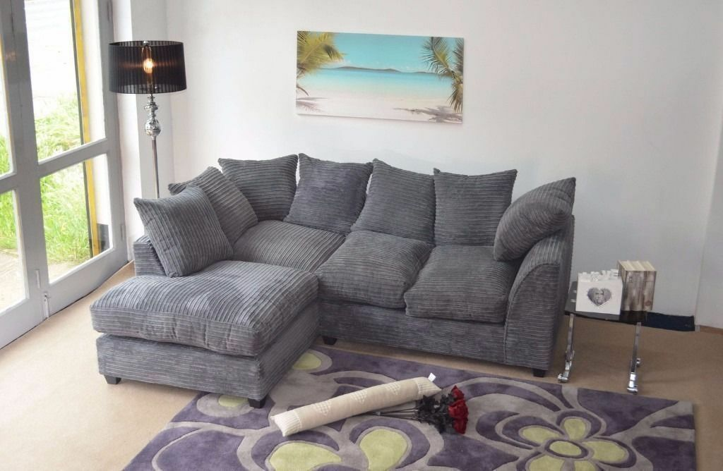 """14 DAY MONEY BACK GUARANTEEPorto Jumbo Cord Fabric Corner Sofa Suite FREE UK DELIVERYin Victoria Park, CardiffGumtree - Please click """"See all ads"""" at the top for our other range of products FREE UK DELIVERY 12 MONTH WARRANTY 14 DAY MONEY BACK GUARANTEE! CONDITION Brand New COLOUR Grey or Brown SPECIFICATIONS Sofa Material Fabric and Solid Wood Seat Type Foam and..."""