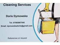 I offer regular domestic cleaning!