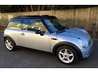 AUTOMATIC MINI COOPER VERY LOW MILEAGE PANORAMIC ELECTRIC SUNROOF LEATHER TRIM GOOD CONDITION AUTO